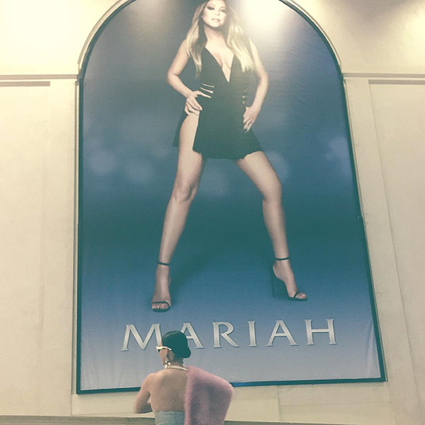Katy Perry Was a Guest of Honor at Mariah Carey's Sin City Residency