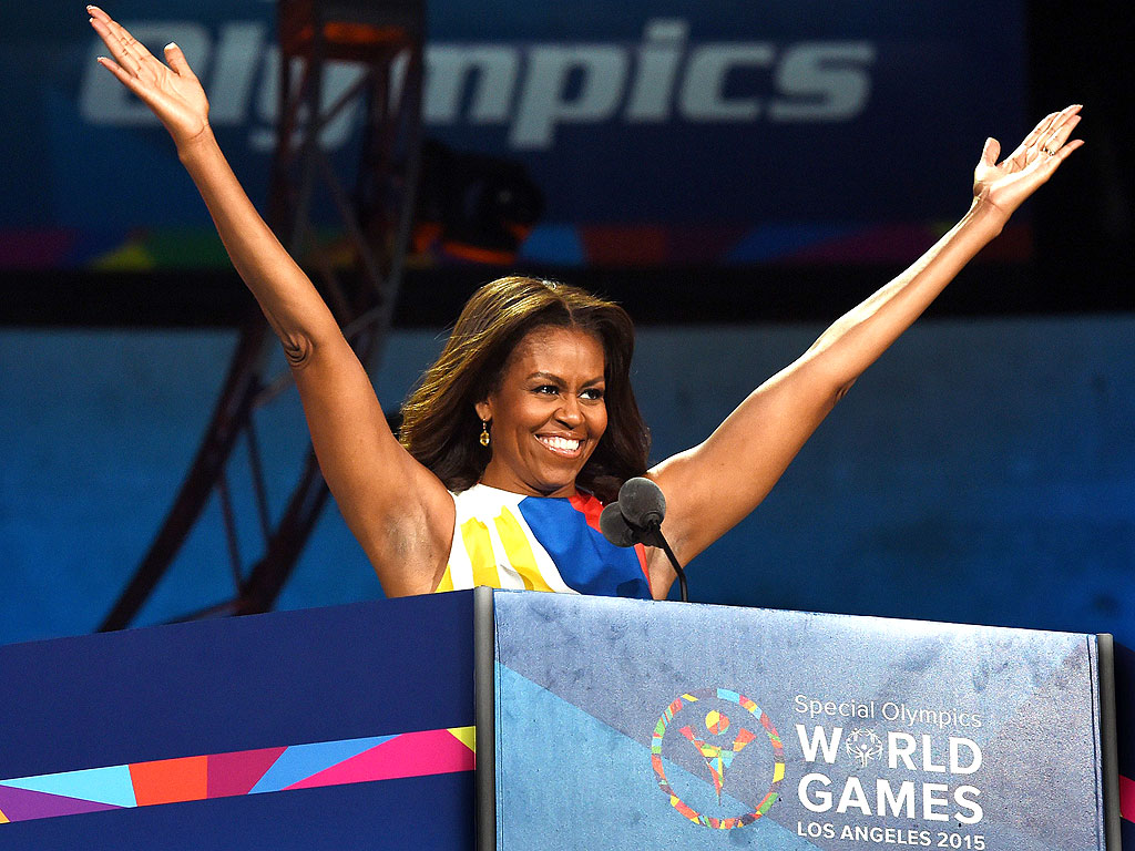 Michelle Obama Introduces 2015 Special Olympics: 'You're Bringing Us Together'