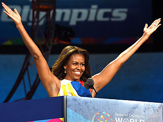 Michelle Obama Opens the 2015 Special Olympics: 'You're Bringing Us Together'