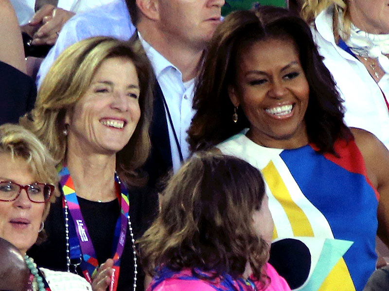 Michelle Obama Opens the 2015 Special Olympics: 'You're Bringing Us Together'| Politics and Current Events, Caroline Kennedy, Michelle Obama