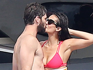Nina Dobrev and Boyfriend Austin Stowell Can't Keep Their Hands Off Each Other in Saint-Tropez