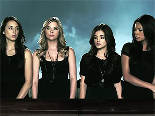 See the Pretty Little Liars Cast Shooting Their First Scene from Season 1
