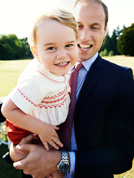 Prince George's Adorable New Birthday Portrait