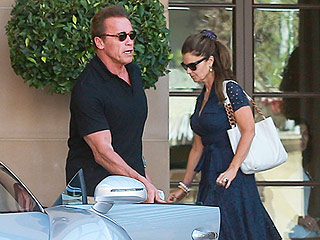 Arnold Schwarzenegger and Maria Shriver Celebrate His Birthday with Family in Beverly Hills: PHOTO