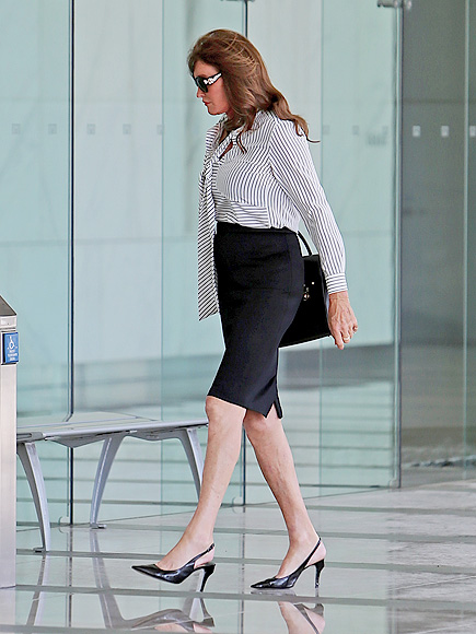Caitlyn Jenner: I Am Cait Star Wears Suit to Creative Artists Agency Meeting