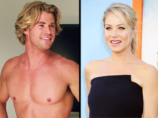 Christina Applegate Admits to Being 'in Awe' of Chris Hemsworth's Abs