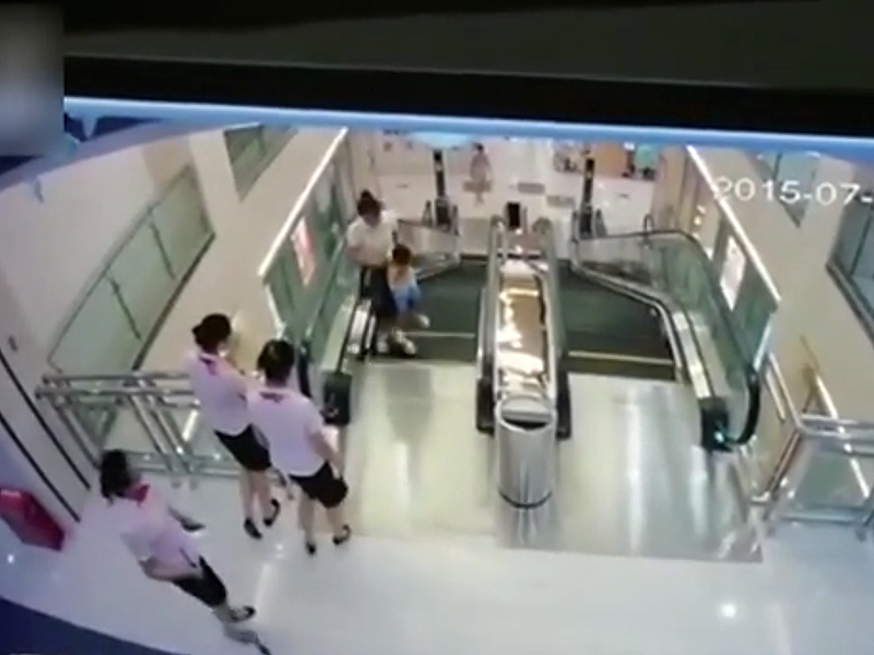 Woman Killed by Escalator in Chinese Shopping Mall