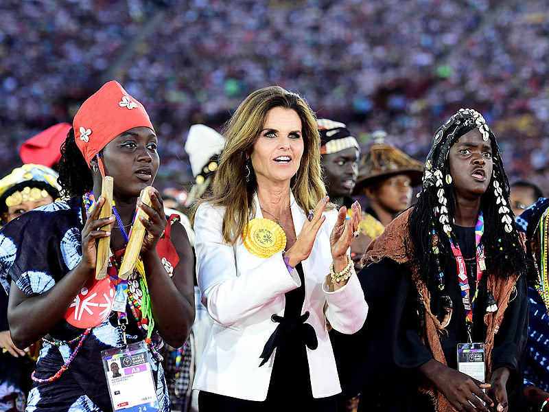 Maria Shriver Carries On Her 'Mummy's' Special Olympics Legacy: It 'Started in Her Own Home, in Her Own Heart'| politics, Sports, Maria Shriver