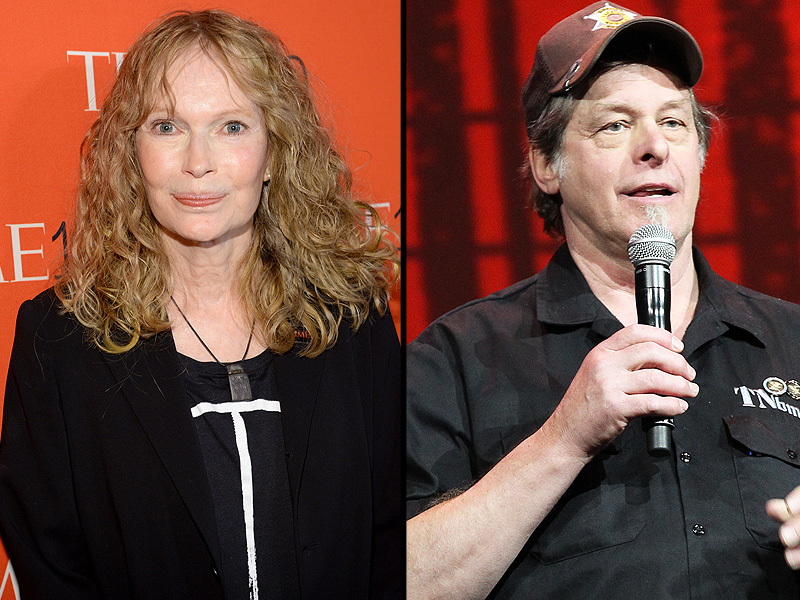 Mia Farrow Tweets Address of Lion Killer, Ted Nugent Jumps to Defend MN Dentist