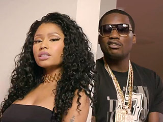 Watch Nicki Minaj & Meek Mill Steam Up the Screen in New 'All Eyes on You' Video