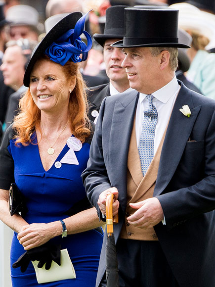 Prince Andrew and Ex-Wife Fergie Come Together for a Fashionable Cause