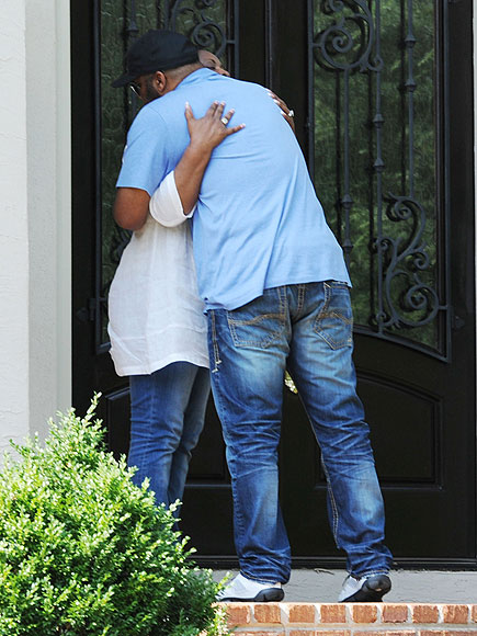 Bobby Brown Looks Devastated After Death of Bobbi Kristina as Tyler Perry Comforts Pat Houston| Bobbi Kristina Brown, Bobby Brown, Tyler Perry, Whitney Houston