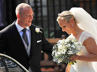 Royal #TBT: Zara Phillips Weds While Newlyweds William and Kate Look On
