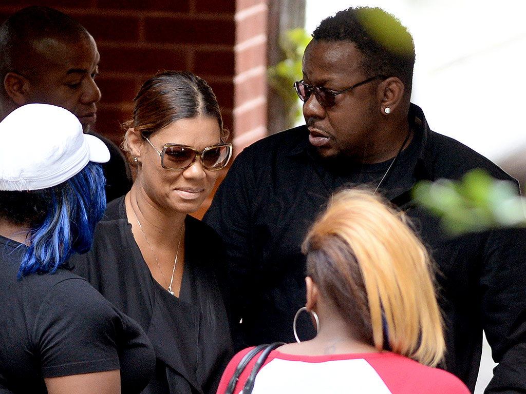 Bobby Brown's Wife Has Seizure After Bobbi Kristina's Funeral
