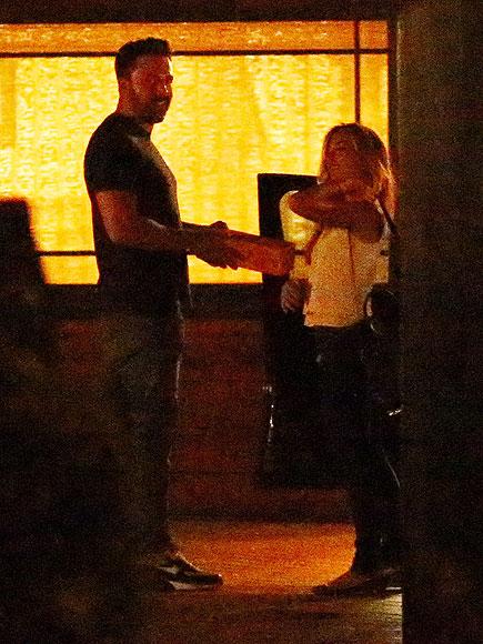 Ben Affleck Meets with Nanny Christine Ouzounian After Jennifer Garner Split