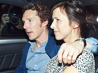 Benedict Cumberbatch and Wife Sophie Hunter Step Out After His Opening Night in Hamlet