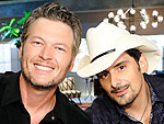 Brad Paisley on Blake and Gwen's Relationship: 'She's Completely Out of His League!'
