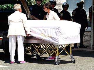 Security Guards Had to Keep Mourners Apart at Bobbi Kristina Brown's Burial, Says Source