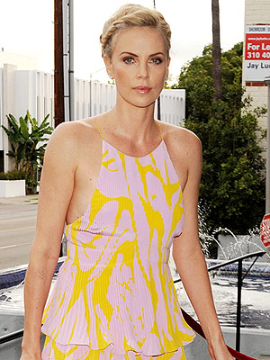 Charlize Theron Adopts Daughter August