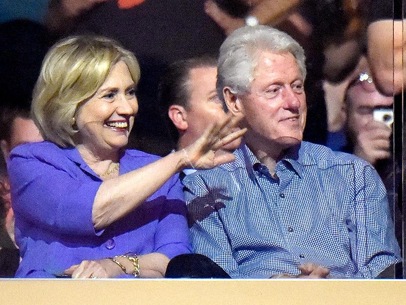 Bill and Hillary Get Bono Shout-Out While Attending U2 Concert in N.Y.C.