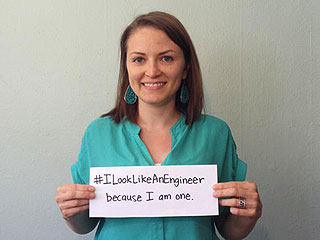 Female Engineers Fight Stereotypes with #ILookLikeAnEngineer Campaign