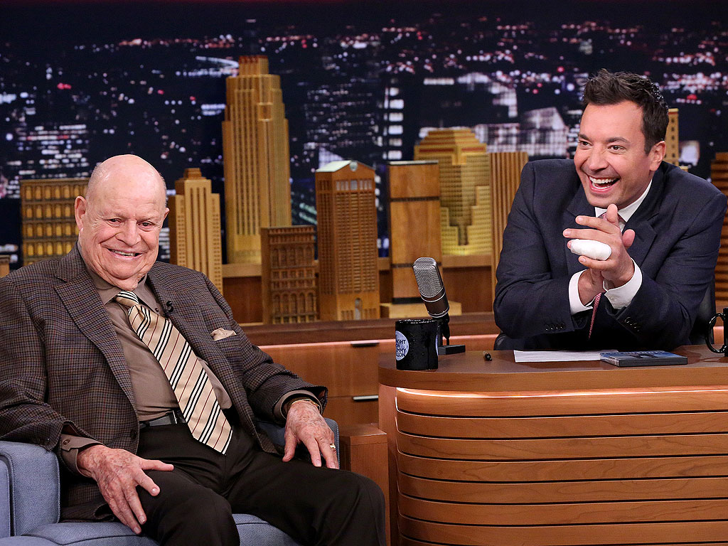 Don Rickles Hilariously Heckles Jimmy Fallon: 'I Never Liked You'| The Tonight Show, Don Rickles, Jimmy Fallon