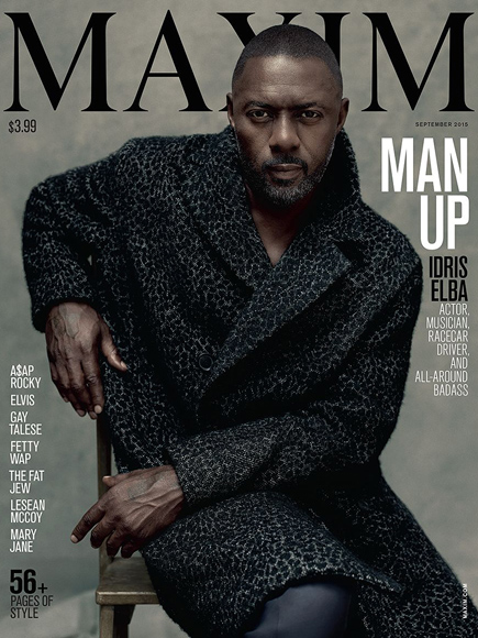 Idris Elba Covers Maxim: He's the First Man to Make the Cover