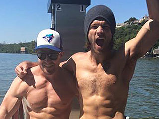 Jared Padalecki and Stephen Amell Raise Awareness for Mental Health (by Going Shirtless!)