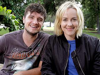 Hunger Games' Josh Hutcherson and Jena Malone Team Up Again for Canon Project Imagination Film