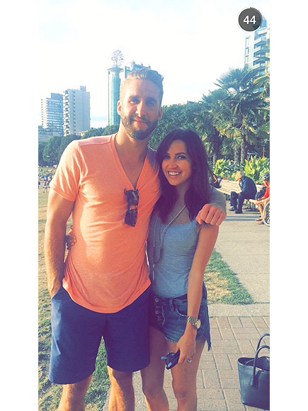 Bachelorette: Kaitlyn Bristowe and Shawn Booth Snapchat from Vancouver