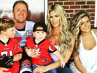 Football Family! Kim Zolciak-Bierrman and Her Kids Cheer on Their NFL Star Dad