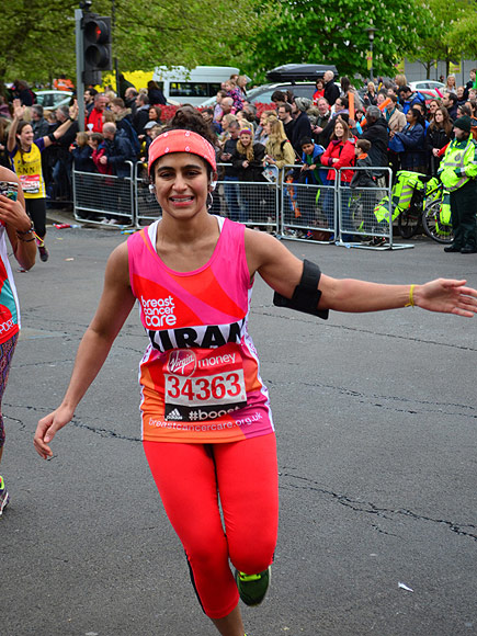 Kiran Gandhi, M.I.A. Drummer, Runs London Marathon Without Tampon