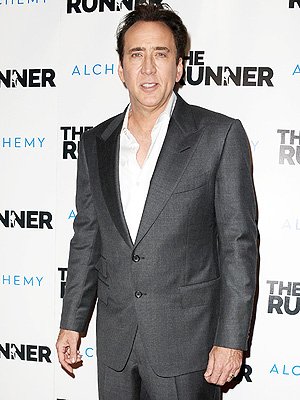 Nicolas Cage at The Runner premiere