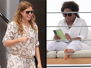 Oprah and the Princess! Beatrice Celebrates Her Birthday with Oprah Winfrey on Luxury Yacht