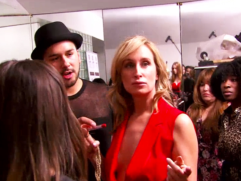RHONYC: Bethenny Frankel and Ramona Singer Fight at Sonja Morgan's Fashion Show