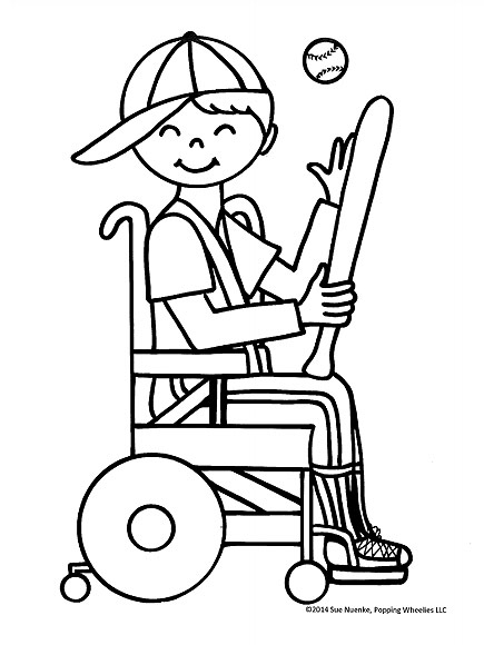 Ohio Woman Creates Free Coloring Books Featuring Kids with Disabilities in Memory of Her Son| Medical Conditions, Good Deeds, Real People Stories