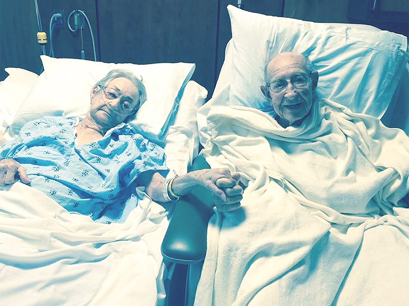 Tom and Arnisteen Clark, Married 68 Years, Reunited After Hospital Separation