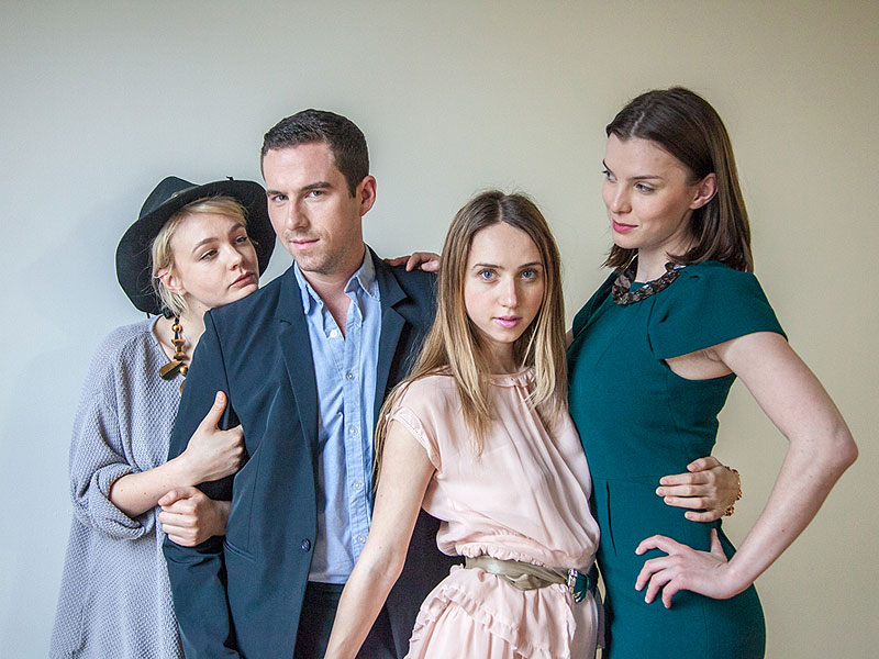Zoe Kazan's Advice for the Perfect Party Plus One? 'Wear Something You Feel Great in and Go Alone!'| Carey Mulligan, Zoe Kazan