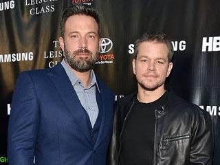 Ben Affleck Wears Wedding Ring to Premiere as Matt Damon Says 'He's Doing Great'
