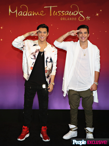 Austin Mahone Meets His Madame Tussauds Wax Figure: 'It Looks So Much like Me!'