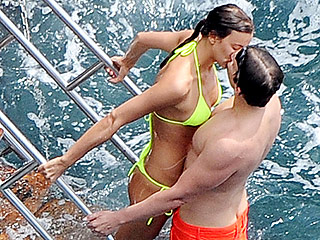 See Bradley Cooper and Irina Shayk Share a Sizzling Smooch – Again! – During Their Italian Holiday