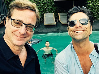 It's a Fuller House Party! Cast Celebrates John Stamos' Birthday Early at Backyard BBQ