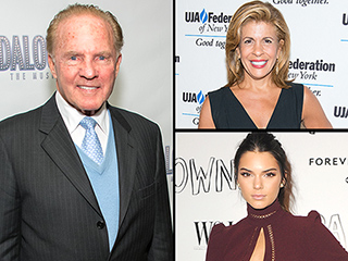 Hoda Kotb, Goddaughter Kendall Jenner and More React to Frank Gifford's Death