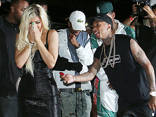 Tyga Gives Kylie Jenner a $320,000 Ferrari as the Whole Family Comes Out to Celebrate Her 18th Birthday