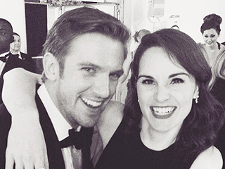 Hearts Melt, Angels Cry: Downton Abbey's Michelle Dockery and Dan Stevens Have Reunited