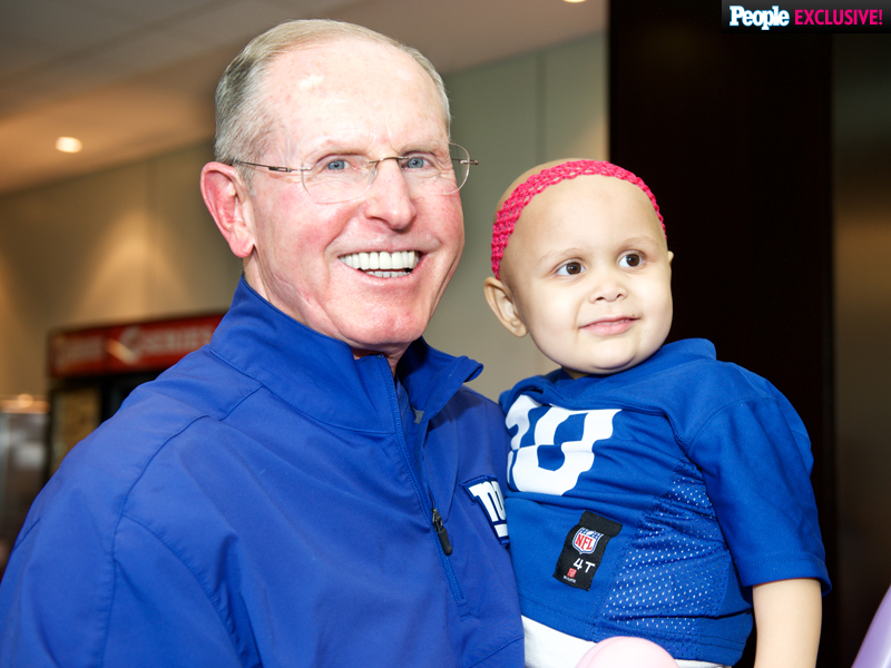 Gridiron Do-Gooder: New York Giants Head Coach Tom Coughlin Sends Teens Battling Cancer to a One Direction Concert| One Direction, Sports, Good Deeds, National Football League