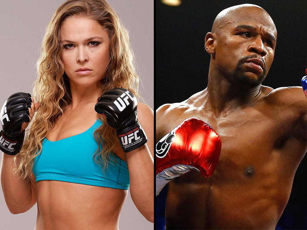 """Ronda Rousey : """" Дүрэмгүй тулаанд Floyd байтугай нь намайг дийлэхгүй."""""""