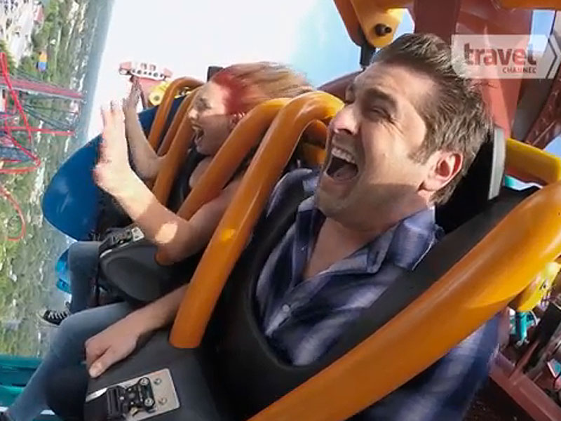 Travel Channel's Thrill Factor: Where Mythbusters, Roller Coasters and Science Collide (VIDEO)  Travel Channel, News, TV News