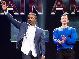 Turns Out Captain America: Civil War's Chris Evans and Anthony Mackie Are Really Big Fans of Frozen