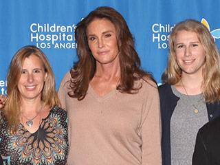 Caitlyn Jenner Joins with Chaz Bono to Meet with Gender Diverse Kids at Children's Hospital Los Angeles